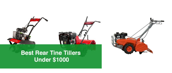 Best Rear Tine Tillers Under �1000