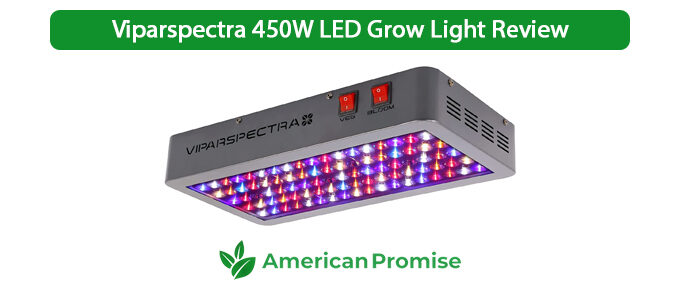 Viparspectra 450W LED Grow Light Review