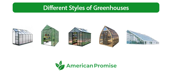 Different Styles of Greenhouses