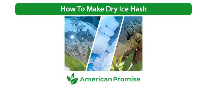 How To Make Dry Ice Hash