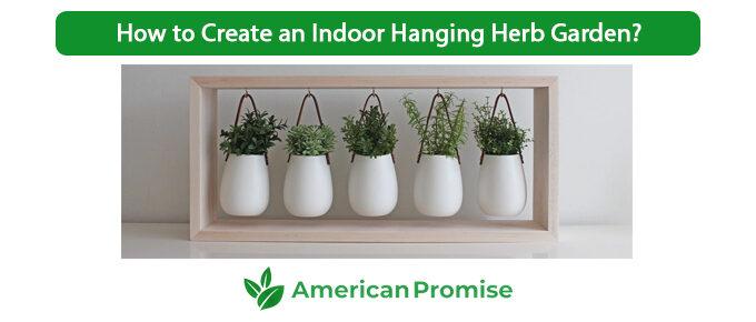 How to Create an Indoor Hanging Herb Garden?