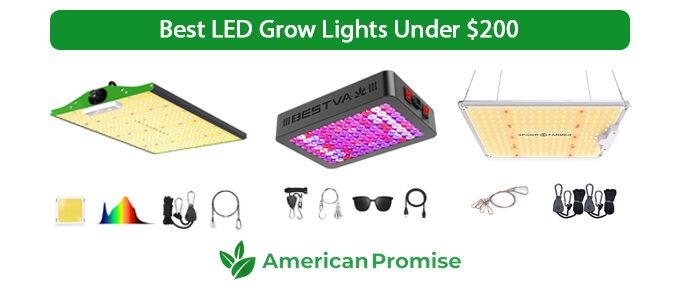 Best LED Grow Lights Under $200